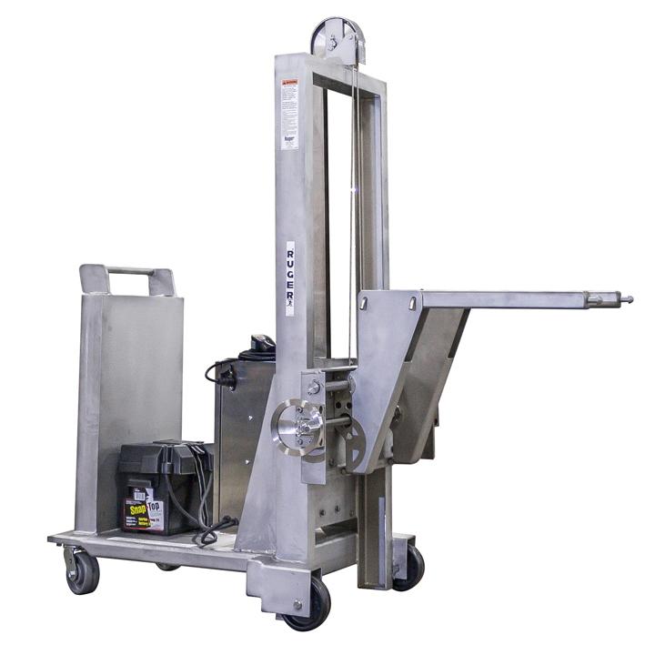 Steel Material Handling Systems : Custom stainless steel material handling equipment ruger
