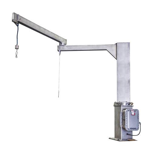 stainless steel jib crane