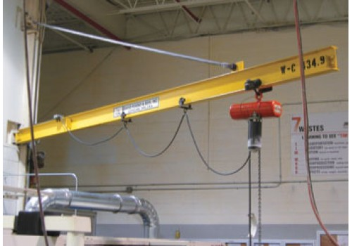 Wall Mounted Cantilever Jib Crane For Any Height I David Round