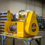 Heavy Duty Wire Rope WInch by David Round