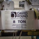 Stainless Steel 8 Ton Hoist by David Round
