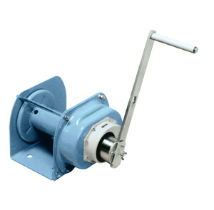 Manual Hand Winch With Brake | Stainless Steel Options I Lifting ...