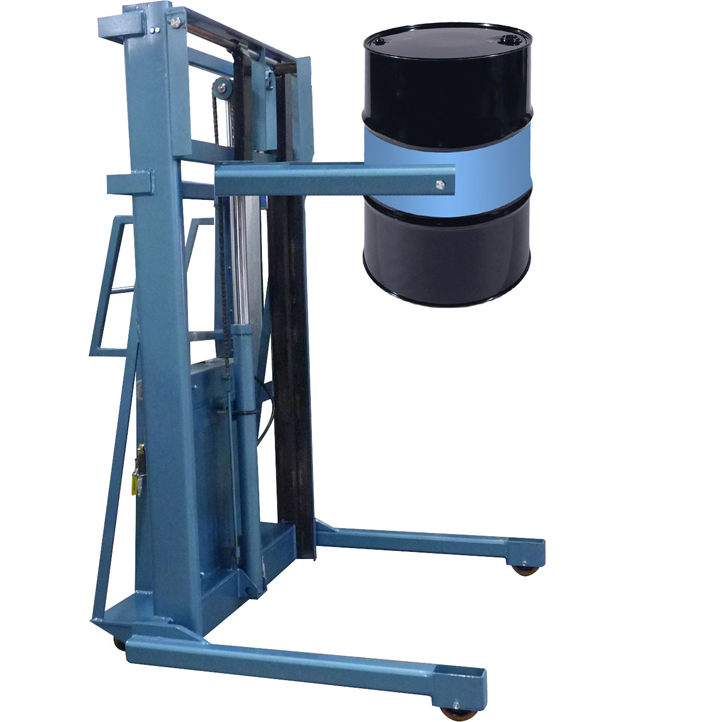 Drum Lift – 55 Gallon – Powered or Manual