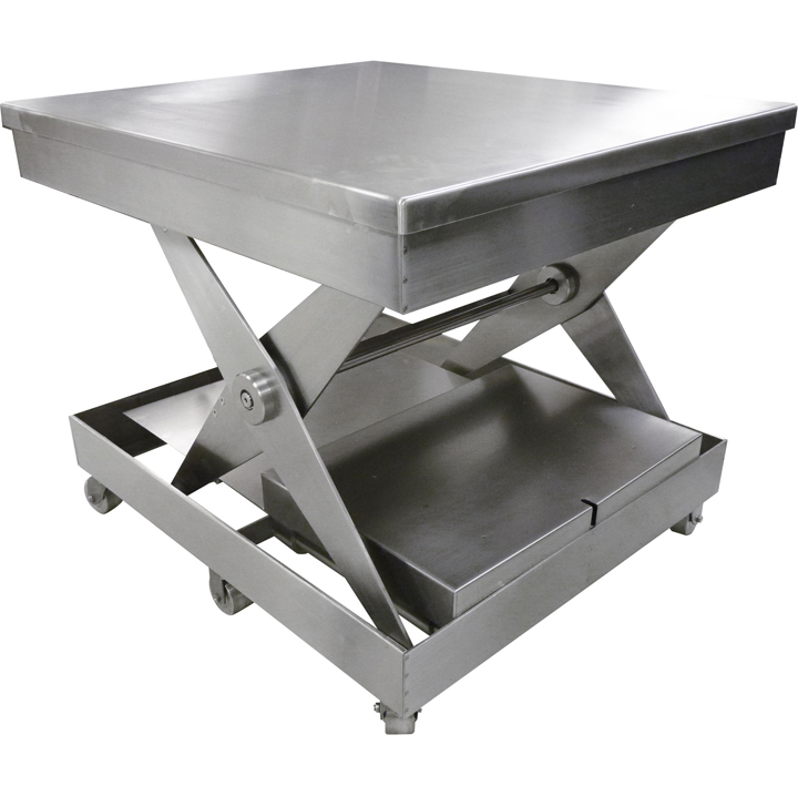 Stainless Steel Lift Table By Ruger