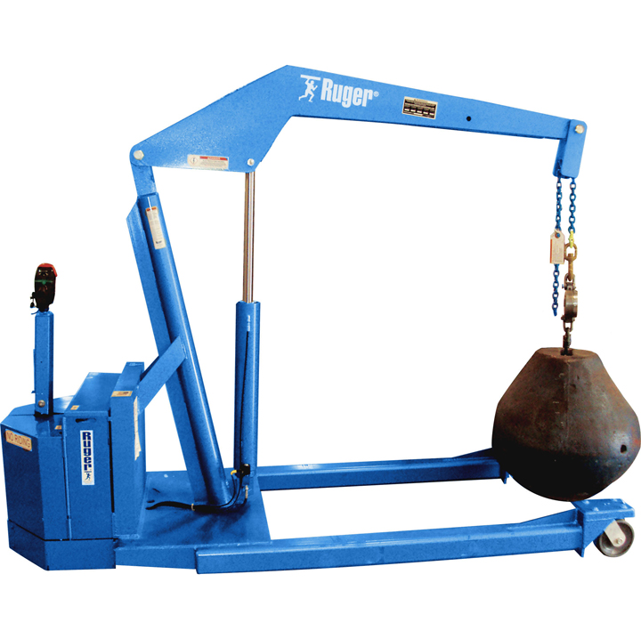 Straddle Full Power Floor Crane I 3 And 5 Tons Cap