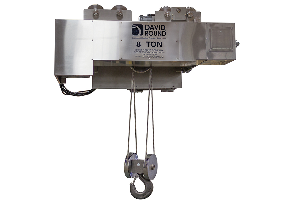 Explosion Proof Wire Rope Hoist Engineered by David Round