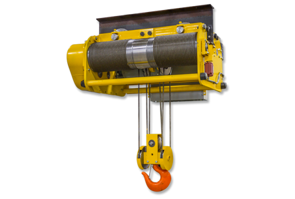 Wire Roe Hoist for Low Headroom Applications