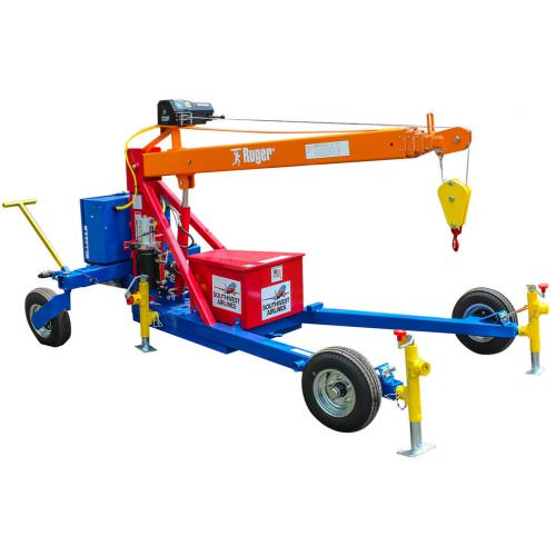 Towable Crane