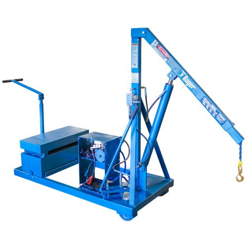 Counterbalanced Shop Crane with Power Pak