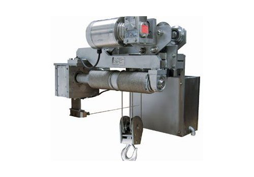 Stainless Wire Rope Hoist   Corrosion Resistant   Air or Electric