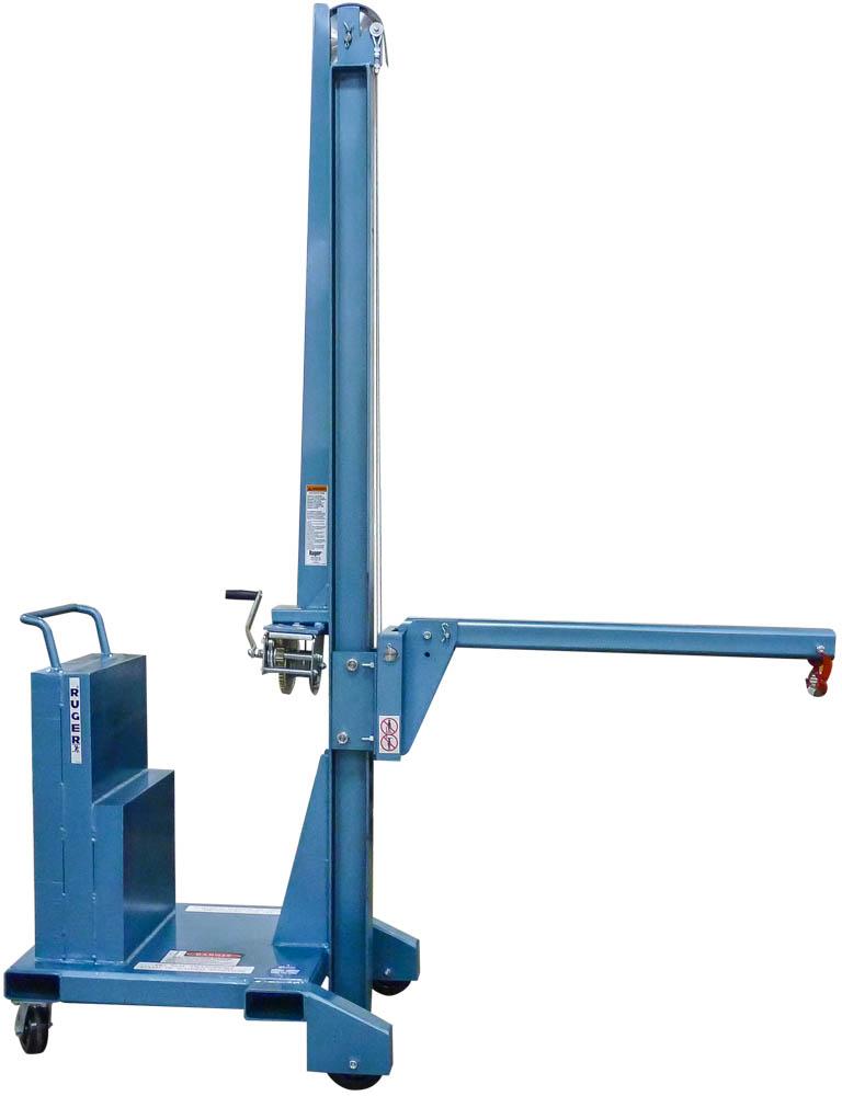 Vertical Lift Parts : Counterbalance vertical lift floor crane stacker david