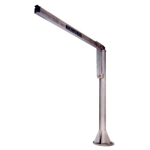 Free Standing Jib Crane Constructed from Stainless Steel for Cleanroom Environments